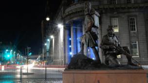 Gordon Highlanders monument