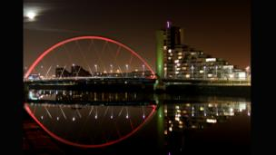 Clyde Arc, Glasgow. Photo: Siobheann Saville