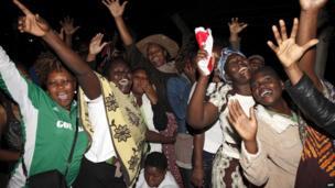 Kisumu town, western Kenya. 4 March 2013
