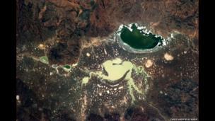 A lake in Australia