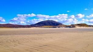 Uig Sands on the west coast of Isle of Lewis