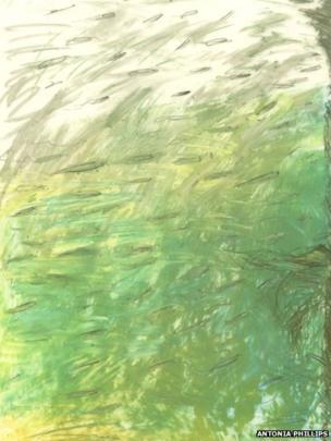 Sand Eels From Below Dorset by Antonia Phillips