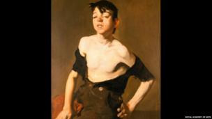 Paddy Flannigan, 1908, by George Bellows