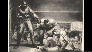 The White Hope, 1921, by George Bellows