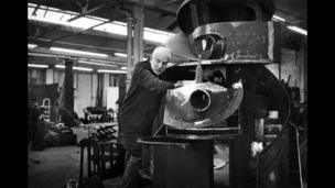 Sir Anthony Caro (courtesy of Anne Purkiss)