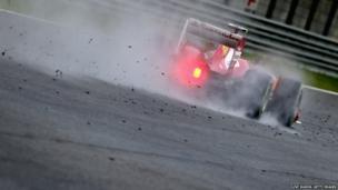Felipe Massa of Brazil and Ferrari drives during practice for the Malaysian Formula 1 Grand Prix