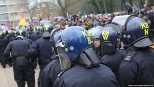 University of Sussex protest