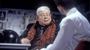 Richard Griffiths in scene from The History Boys
