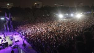 Concert of Solidarity and Help in Nicosia, Cyprus (1 April 2013)