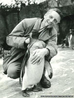 Gilbert Fisher and Joey the King Penguin