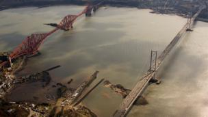Bridges over the Firth of Forth