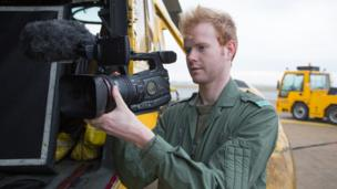 Aled Rhys Jones, Shooting Director for Helicopter Rescue
