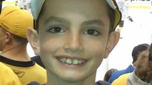 Martin Richard, who was killed in the Boston Marathon attacks, is shown in this undated family handout photo released on 16 April 2013
