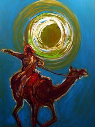 Camel and Rider 2004-6