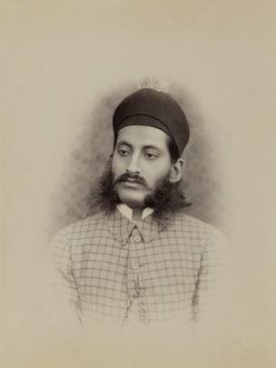 Nizam Mir Mahbub Ali Khan of Hyderabad, late1887-88