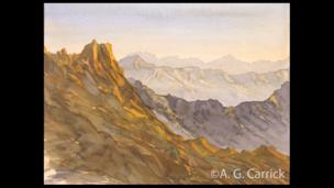 Overlooking Wadi Arkam, Asir Province, Saudi Arabia, 1999