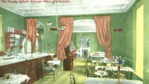 The Thursby Saloon: Abington Abbey