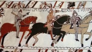 Andy Wilkinson's tapestry