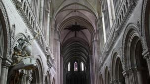 Bayeux Cathedral in France