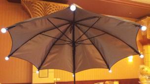 London 2012 Mary Poppins umbrella