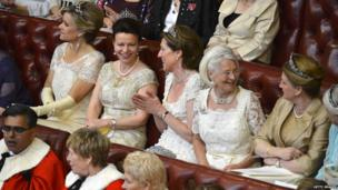 Ladies in the House of Lords