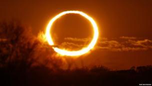 Solar eclipse. Photo: Rob Whitehead