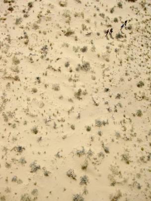Fieldwork in the Utah desert by Yannick Kremer