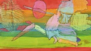 Gwaith celf gan Elin Mai Williams