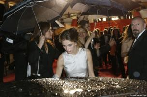 French actress Marine Vacth at the Cannes Film Festival