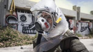 Israeli soldier in Azur, 28 May