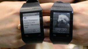 Smartwatch developed by Sonostar,