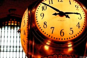 Clock at Grand Central Terminal in New York