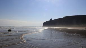 Downhill Beach - by Deborah North