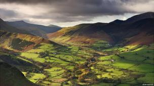 Valley of Light, Newlands Valley, Cumbria by Adam Burton