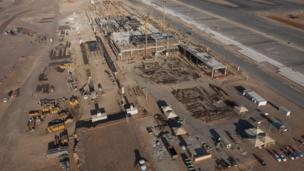 The Sao Goncalo do Amarante Airport construction site, Natal