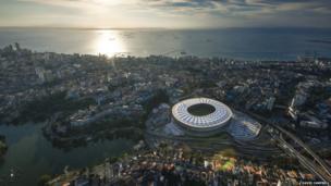 Salvador de Bahia, Arena Fonte Nova