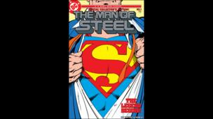 The Man of Steel comic cover