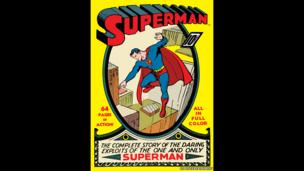 This Superman No. 1 comic book, dated 1939