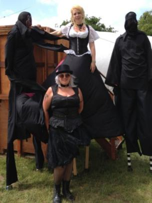 Sue Plummer and circus performances