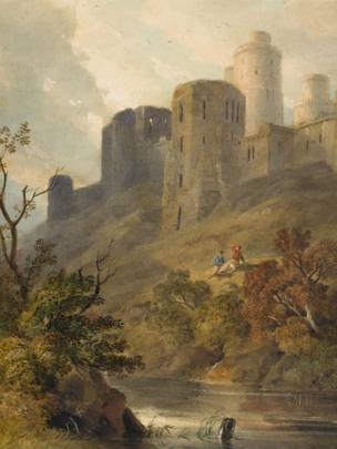 Kidwelly Castle by Hugh Grecian Williams