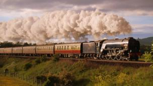 A1 Steam Locomotive Trust's Tornado