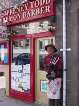 barbers in Pitlochry