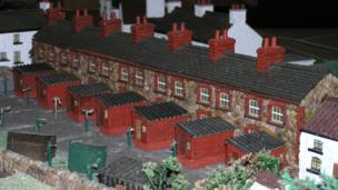 Magor model village terraced homes