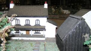 Magor model village cottage