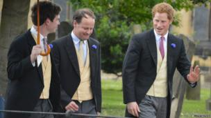 Prince Harry (right)
