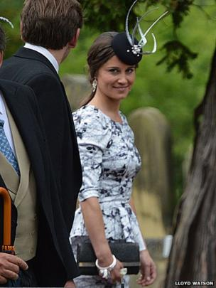 Duchess of Cambridge's sister, Pippa Middleton