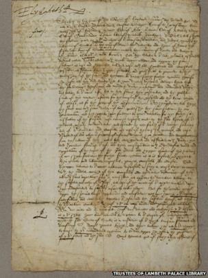 Death Warrant for Mary, Queen of Scots