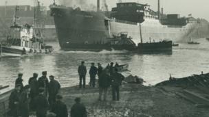 Baikal steamer