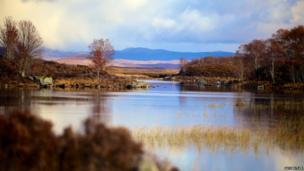 Small lake at Glencoe