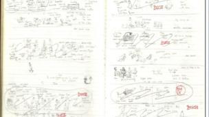 One of Alex Graham's original ideas books